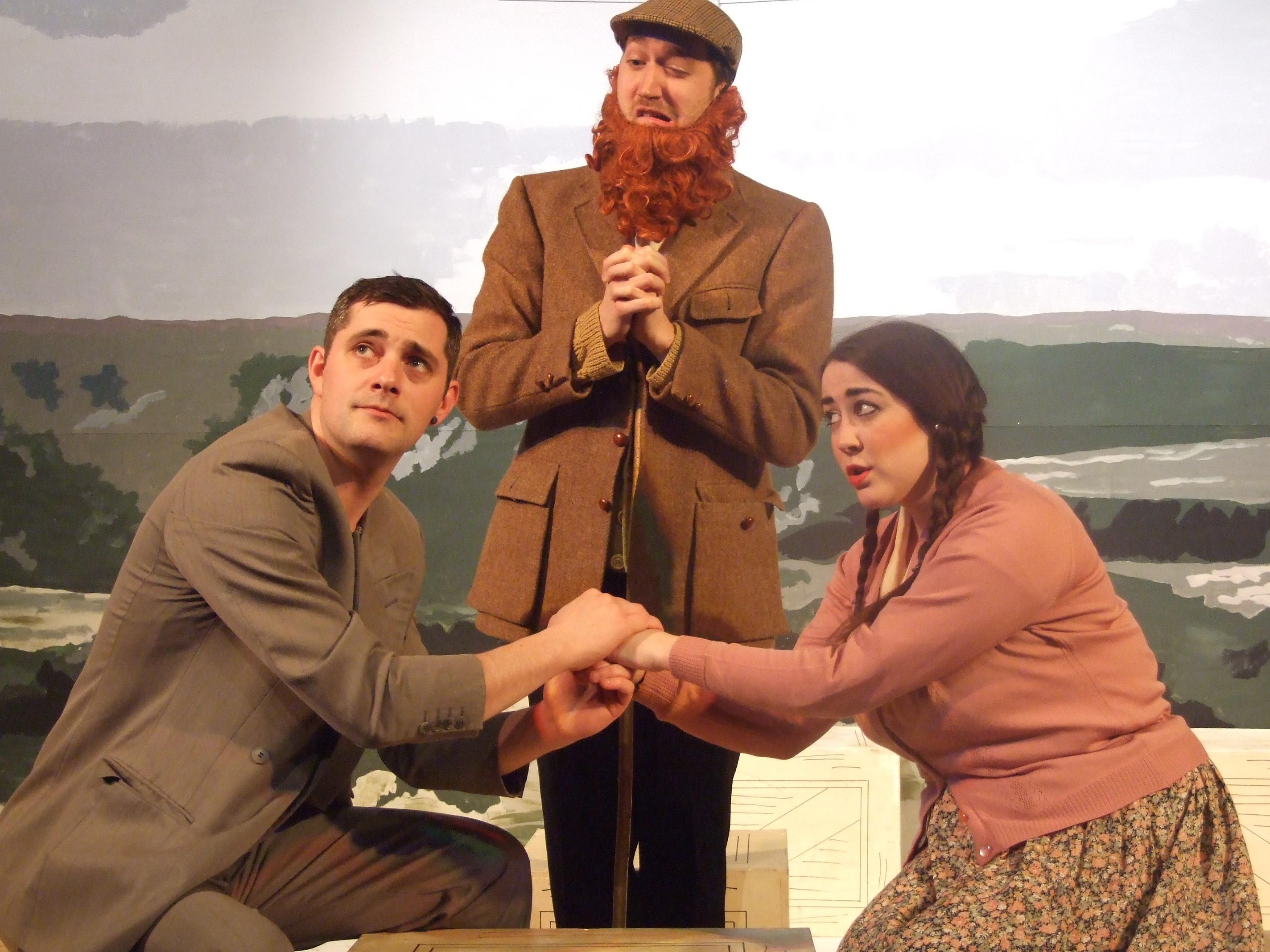 Richard Hannay, John and Margaret