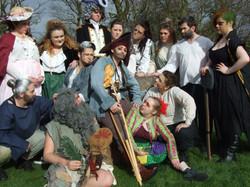 The cast of Treasure Island