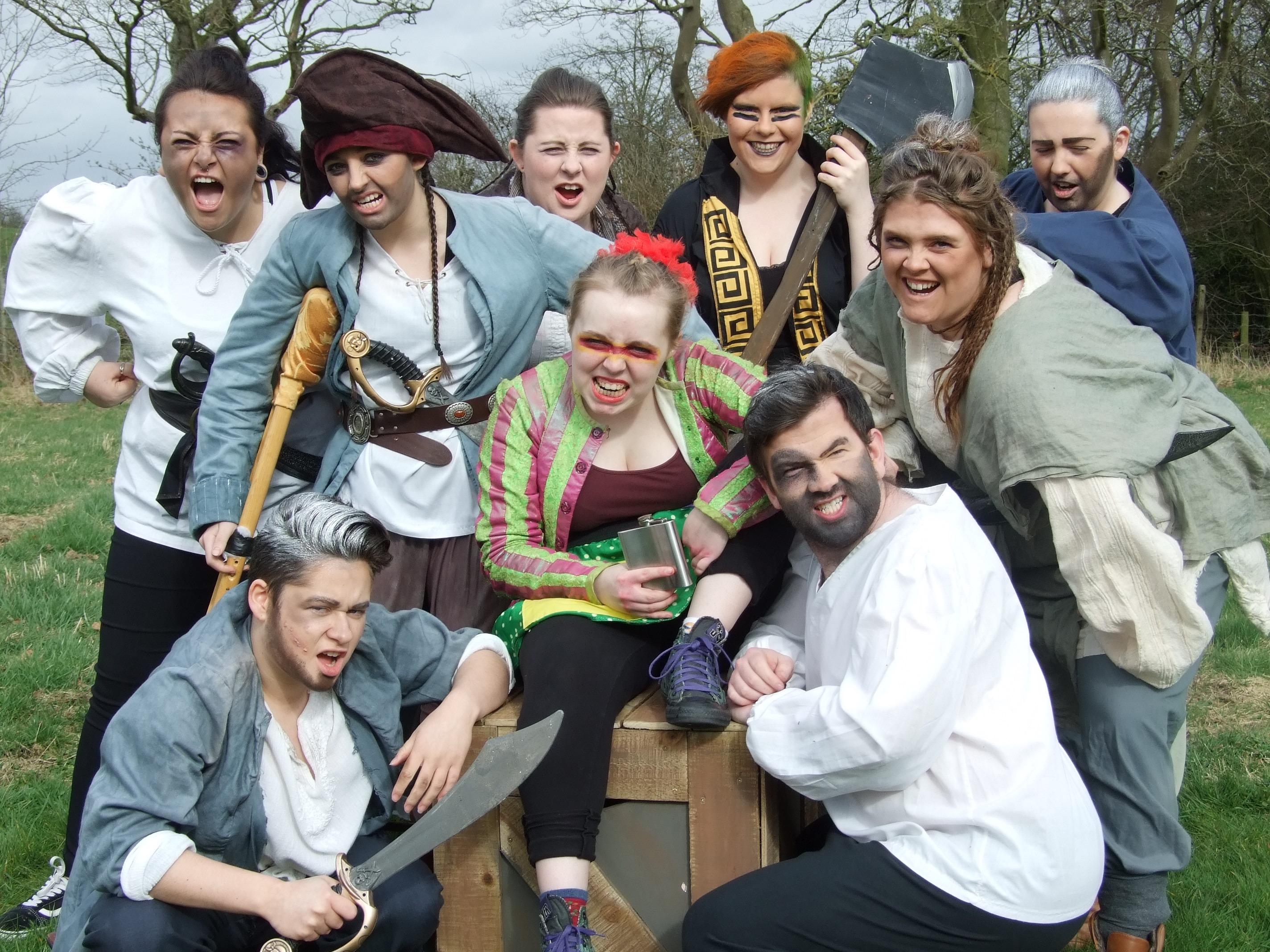Long John Silver's Crew