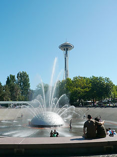 Interntionl Fountain -Seattle Center, Gene Colin Penny Project