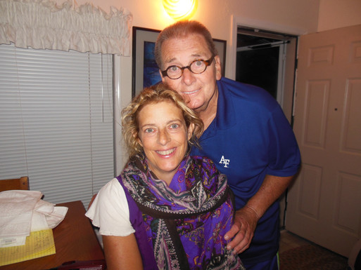Gene Colin and wife Susan Janus Colin