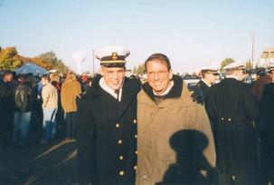 Gene Colin (Right) and son Ryan Hazlett
