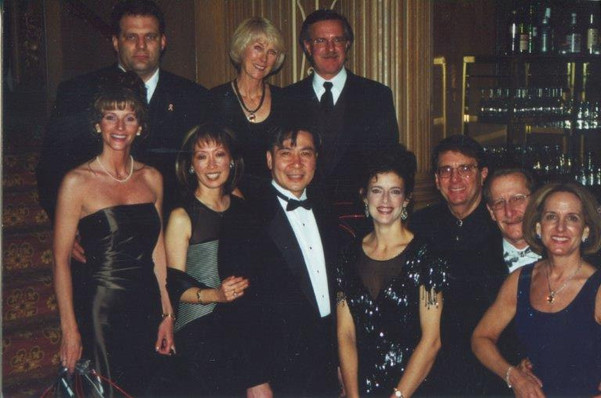 Gene Colin (third from right)