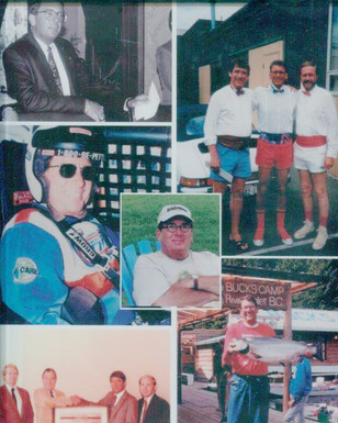 Collage of Gene Colin