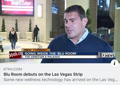 Co-Developer Dr Matt gives a fantastic interview to local TV in Las Vegas!