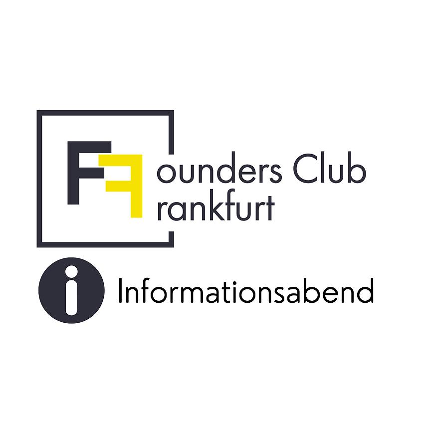 Founders Club Frankfurt Einführungs- / Informationsveranstaltung