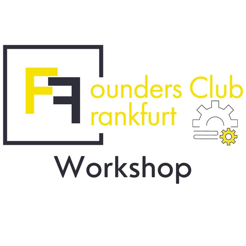 """Workshop: """"In 100 Minuten zum Startup"""" mit Hans-Joachim Stickel & Felix Schneider"""