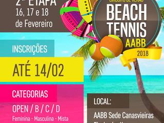 Torneio de Beach Tennis tem recorde de duplas inscritas