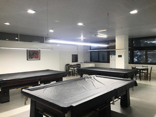 Sala de Sinuca recebe obras