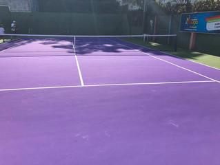 Inaugurada a reforma da quadra de tênis