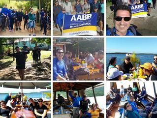 Grupo da AABB percorre a Trilha da Costa da Lagoa