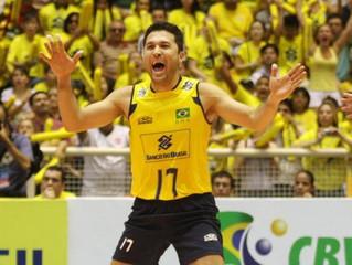 AABB vai receber atleta campeão mundial de voleibol