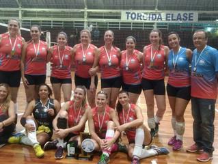 AABB é campeã invicta da Copa Elase de Voleibol