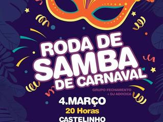 Roda de Samba vai agitar a segunda-feira de Carnaval da AABB