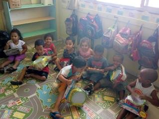 Campanha arrecada brinquedos para distribuição em creche comunitária