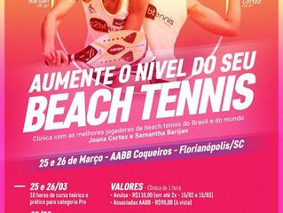 AABB promove Curso de Beach Tennis Feminino