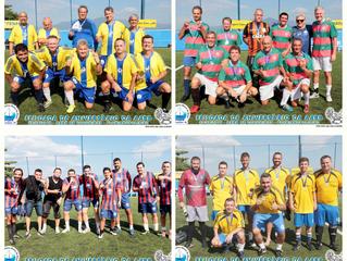 Goleadas consagram os campeões do Torneio de Futebol