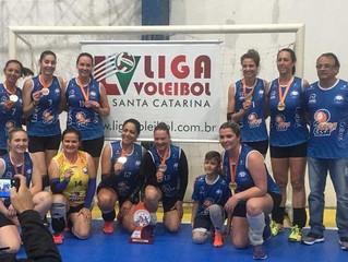 AABB é campeã da Copa Metropolitana de Voleibol