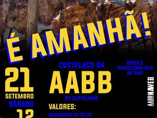 Costelaço da AABB é amanhã