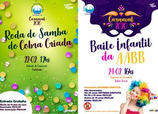 Contagem regressiva paramais um Carnaval na AABB