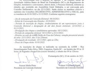 EDITAL DE CONVOCAÇÃO - PROCESSO ELEITORAL