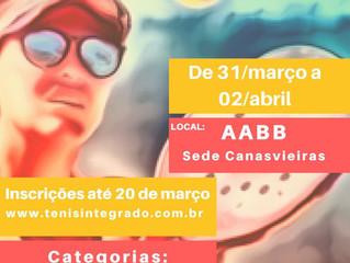 Vem aí o 1º Microrregional de Beach Tennis AABB Florianópolis