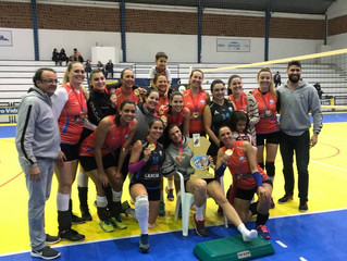 AABB é pentacampeã do Campeonato Metropolitano de Voleibol