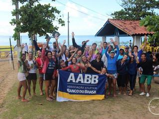 AABB comemora o sucesso do 1º Microrregional de Beach Tennis