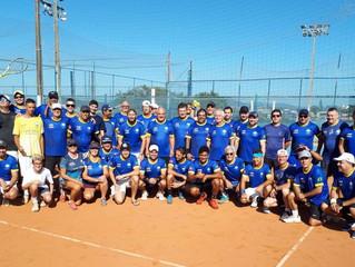 Tenistas da AABB promovem torneio solidário