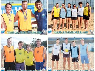 Definidos os campeões do Torneio de Vôlei de Praia