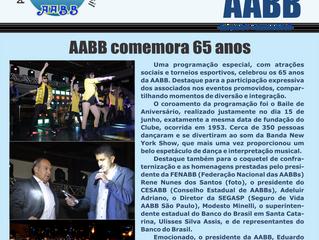 Informativo AABB - Junho 2018