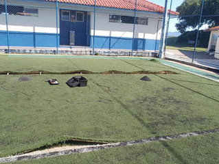 AABB realiza obras nas Sedes Social e Balneária de Canasvieiras