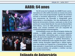 Informativo AABB - Julho 2017