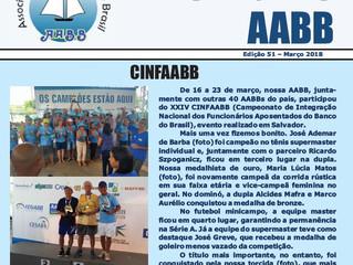 Informativo AABB - Março 2018