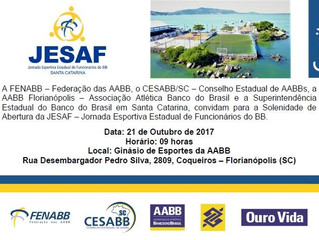 AABB será a sede da JESAF 2017