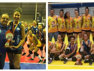 AABB conquista dois títulos na Liga de Voleibol de Santa Catarina