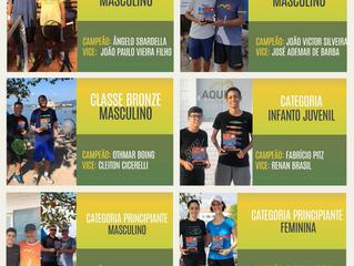 Torneio de Tênis define os campeões em seis categorias