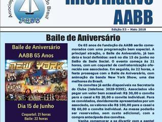 Informativo AABB - Maio 2018