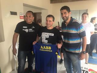 Governador de Santa Catarina prestigia evento na AABB