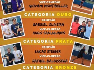 Definidos os vencedores da 4ª Etapa do III Circuito de Tênis AABB