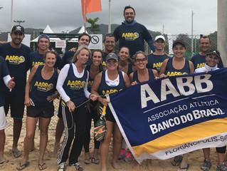Equipe da AABB é destaque no Campeonato Estadual de Beach Tennis