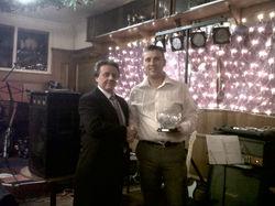 06 - Dennis McTaggart (Jnr) Winner James Finlay Rosebowl 2010.