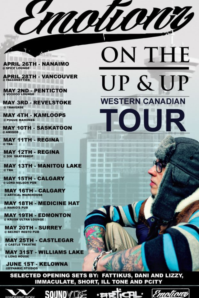 On the Up and Up Tour w/ Emotionz