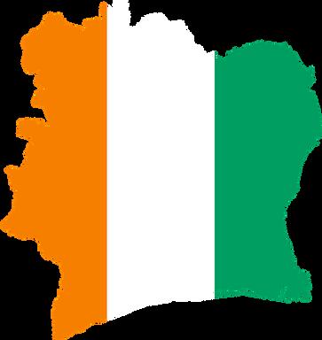♥Ca 40 % av all kakaoproduksjon i verden foregår på Elfenbenskysten.