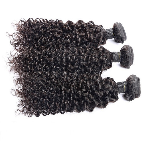 4 BUNDLE DEAL W/ CLOSURE-CURLY
