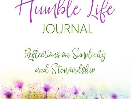 Time for reading, journaling, & simplifying...