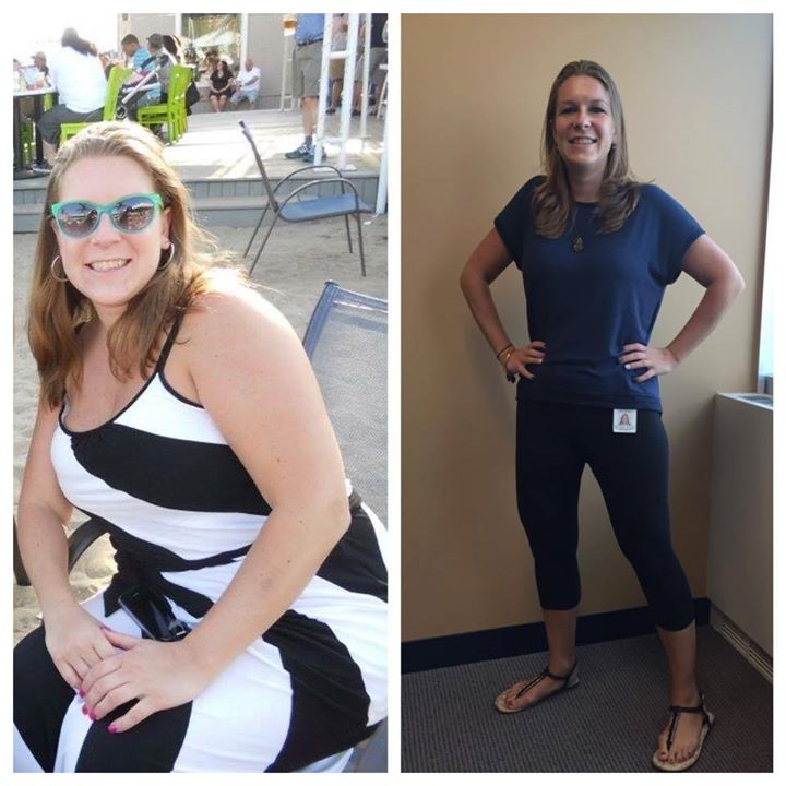 #transformationthursday goes to teammate Jaime Opper!__Here's what Jamie had to say___ _I was heavy,