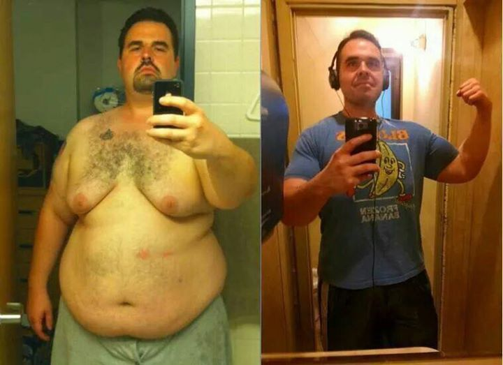 Facebook - Ummmm yeah. Now that's a transformation if I've ever seen one. Yes people this really doe