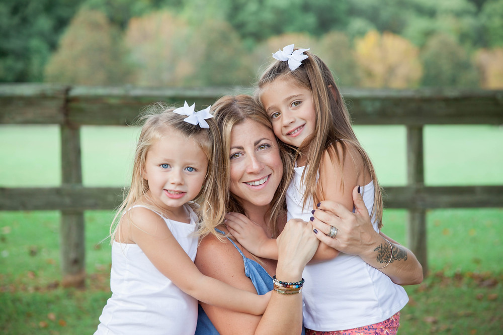 me and my baby girls..