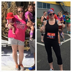 Oh i sooo love this before and after story of one of my teammates! Laura is a kick ass mom that has